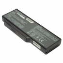 MEDION Akoya E8410 MD96945, kompatibler Akku, LiIon, 10.8V, 6600mAh, schwarz, Hochkapzitätsakku