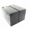Bild 2: MTXtec Ersatzakku für USV APC Back UPS RS 800/1000, ersetzt RBC32 (2 Einzelakkus)