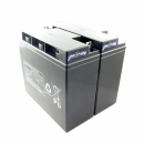 MTXtec Ersatzakku für USV APC RBC7 (2 Einzelakkus)