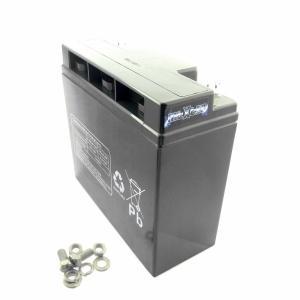 MTXtec USV/UPS-Akku, 12V, 18000mAh (1 Akku von 2) für APC RBC-7, RBC7